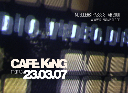 Audio Video Disco Cafe King