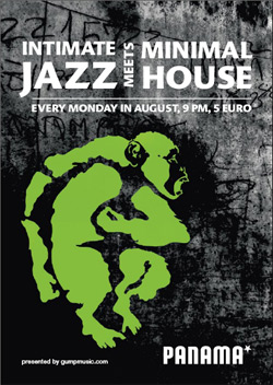 Intimate jazz meet's minimal house Panama-Amsterdam